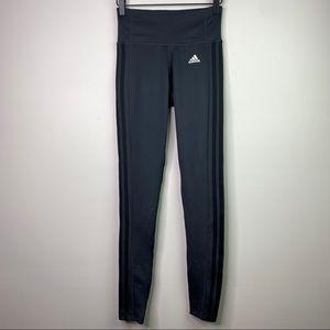 Adidas 3 Stripe Climalite Legging